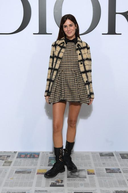 Dior Ready To Wear Autumn Winter 2020 Photocall Gala Gonzalez