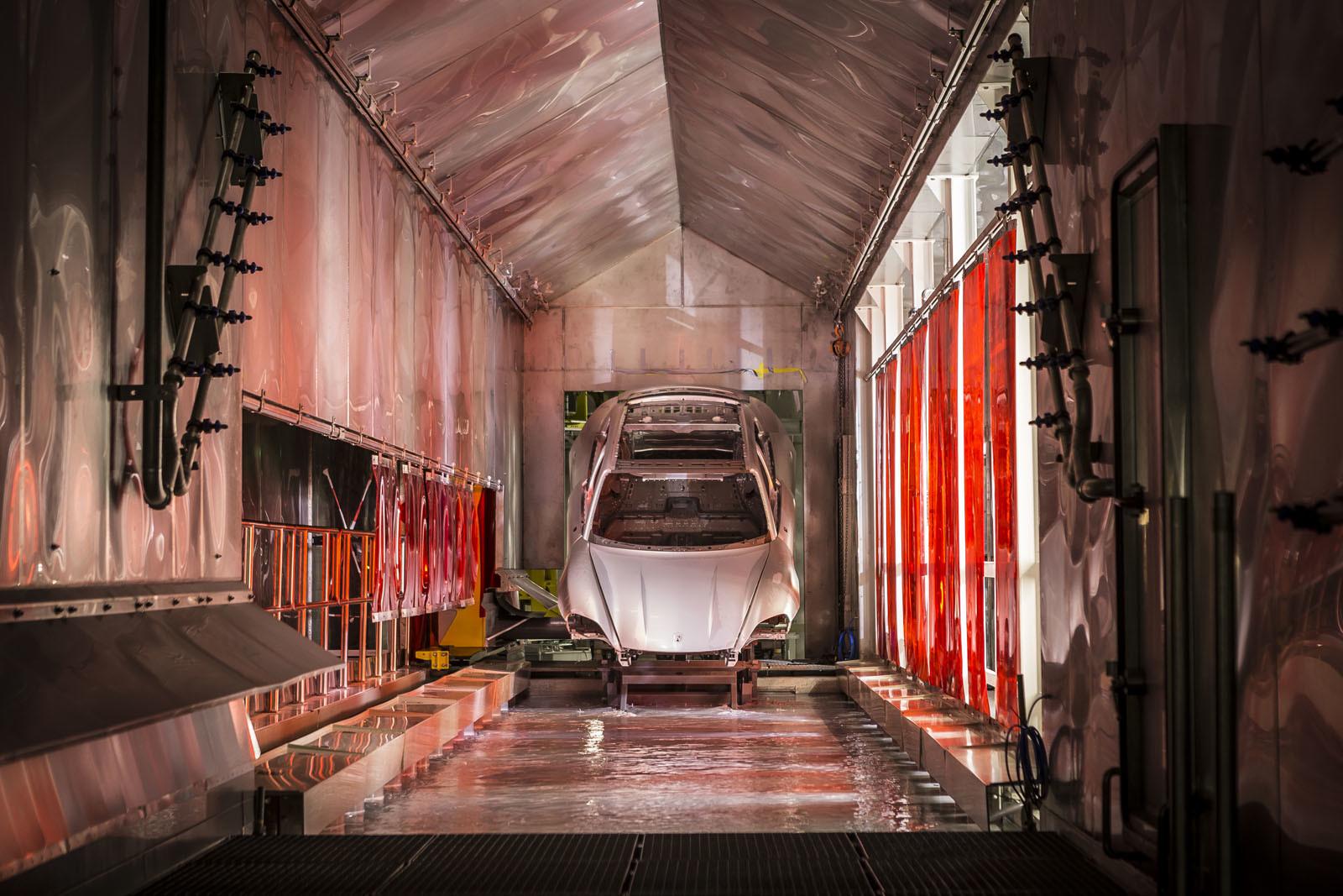 Foto de Fábrica Porsche Taycan (inauguración) (42/44)