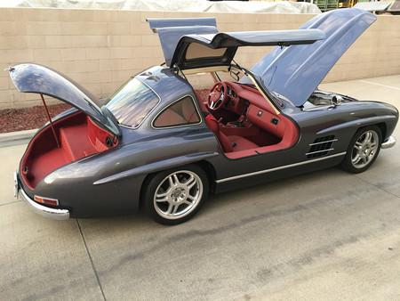 ¿Por qué esta réplica mala de un Mercedes-Benz 300 SL sale a subasta por 125.000 dólares?