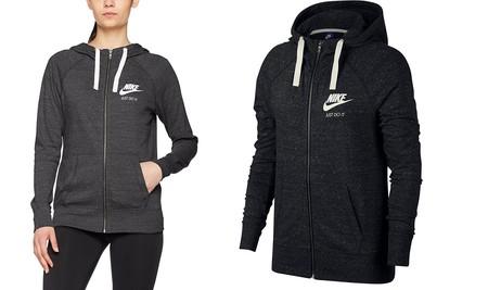 Chollo en Amazon: desde 21,39 euros podemos hacernos con esta sudadera Nike Sportswear con capucha en gris o negro