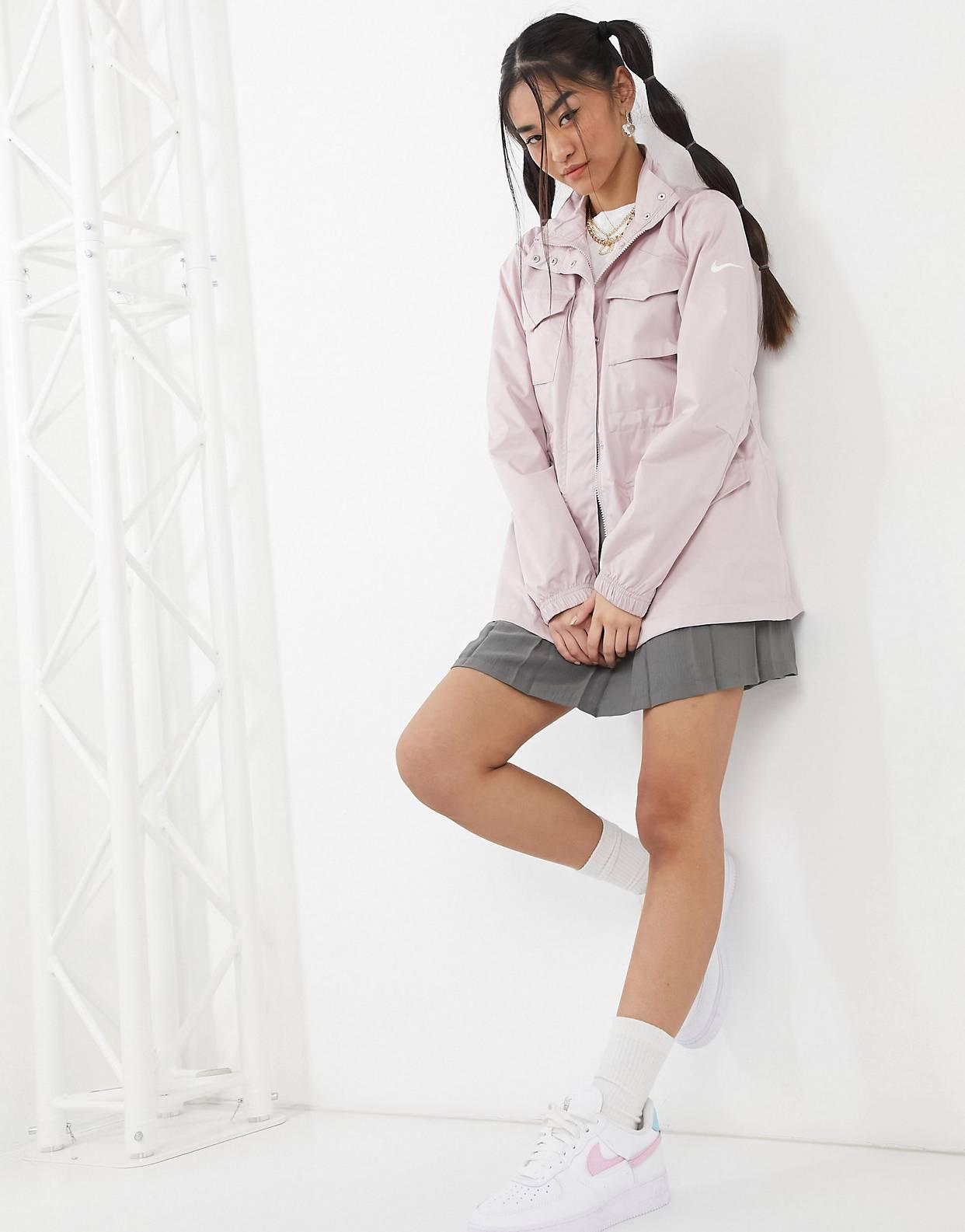 Chaqueta rosa claro básica Move To Zero de Nike