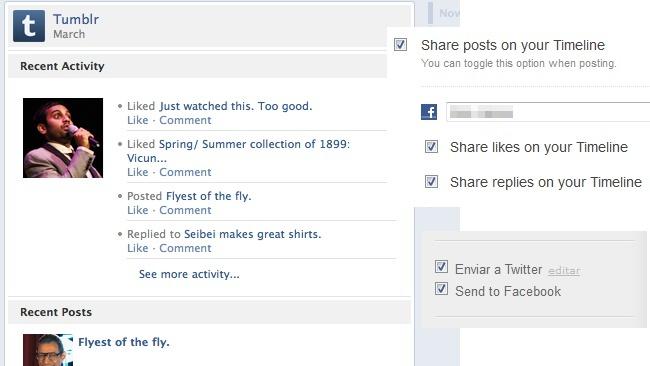 Tumblr lanza una integración más profunda con el timeline de Facebook