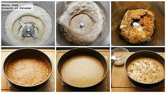 Paso a paso tarta armenia de nuez moscada