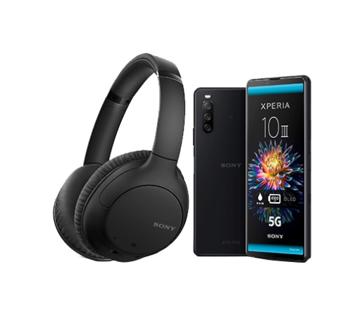 Xperia 10 III Black Dual SIM (Limited Promotion Sony WH-CH710N Gift)