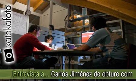 """""""No queremos ver a Flickr como un competidor de Obture"""", entrevista a Carlos Jiménez, de obture.com"""