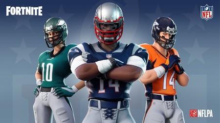 Fortnite sigue expandiéndose y tendrá «skins» de la NFL a partir del 10 de noviembre