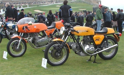 Ducati 750SS y Laverda Sport 750 SFC