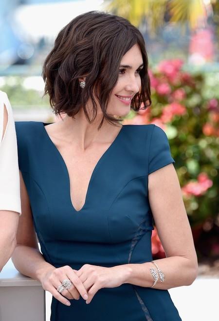 Melena corta y ondulada. Es la apuesta de Paz Vega en el Festival de Cannes 2014