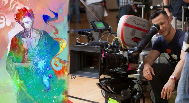 Joseph Gordon-Levitt en el rodaje de Don Jon