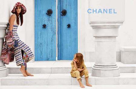 El modelo más joven de Chanel ya tiene su campaña a los 6 años, él es Hudson Kroenig