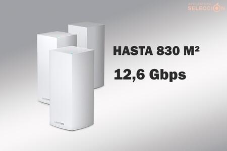 El pack de tres routers Linksys Velop MX12600 a 418,11 euros en Amazon: Wi-Fi 6 mesh de alta calidad a precio de escándalo