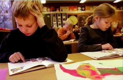 Multa por permitir que los niños no acudan al colegio