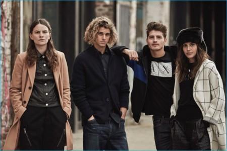 Armani Exchange apostó por prendas utilitarias y sin complicaciones para el otoño