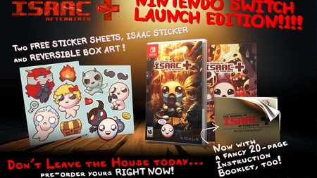 The Binding of Isaac para Switch se retrasa, pero no será tanto tiempo