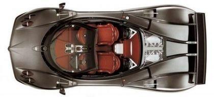 Pagani Zonda Roadster F, nuevas imágenes