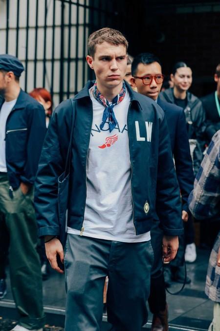 Panuelo Bandana Trendencias Hombre Street Style De La Semana 06