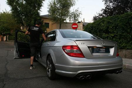Prueba del Mercedes-Benz C63 AMG por 8000vueltas.com