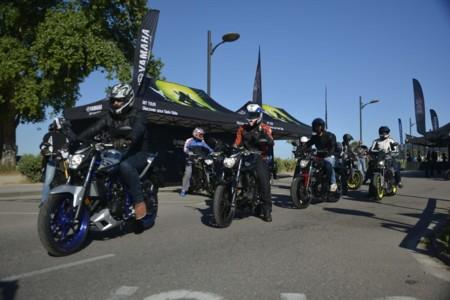 Yamaha MT Tour, éxito arrollador en Santander, Vigo y Valencia