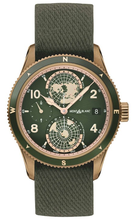 Reconnecting Through Nature With New Montblanc Timepieces In Khaki Green