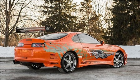 Toyota Supra Paul Walker