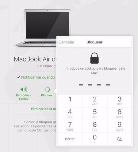 Buscar Mi Mac Bloquear 3