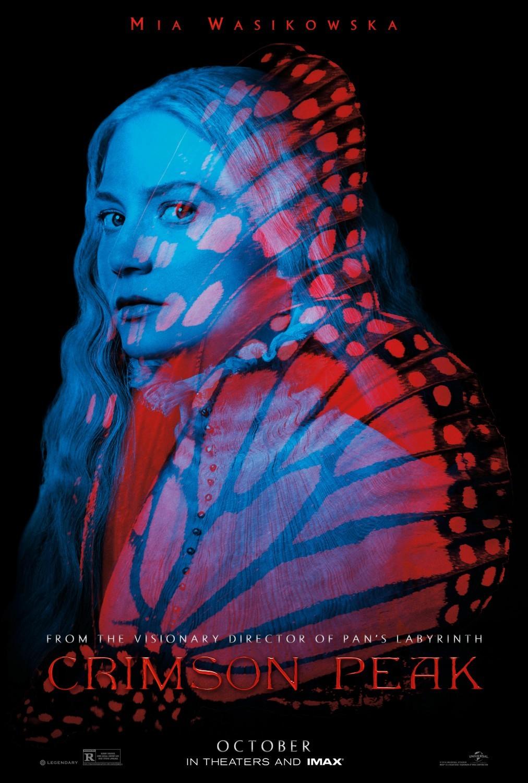Foto de 'La Cumbre Escarlata', carteles de la película de Guillermo del Toro (7/12)