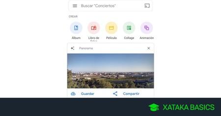Cómo hacer que Google Fotos te cree una panorámica automáticamente a partir de tus fotos