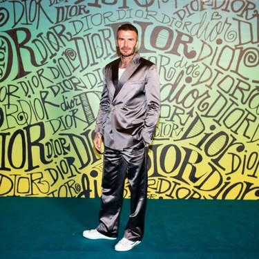 David Bekcham, Maluma... nadie se quiso perder el desfile de Dior Men Otoño 2020 (y todos apostaron por el color)