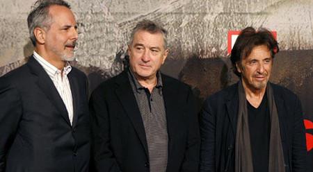 Rueda de prensa con Al Pacino, Robert De Niro y Jon Avnet sobre 'Asesinato justo'