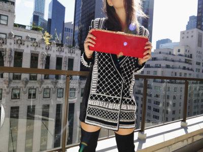 Duelo de Balmain (x H&M): looks exactos entre bloggers de moda