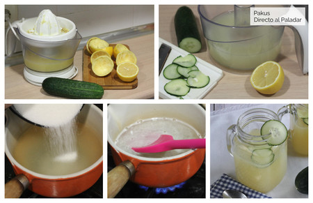 Limonada Pepino Pasos