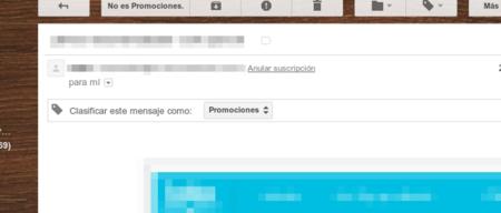 Gmail nos facilita aún más desuscribirnos de promociones y listas de correo