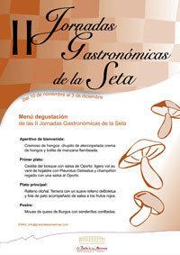 II Jornadas de la Seta en el Restaurante Hotel El Prado de las Merinas