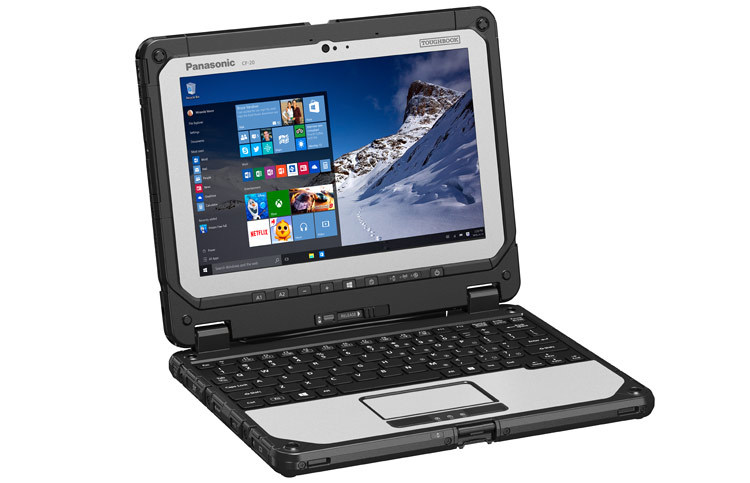 Foto de Panasonic Toughbook 20 (6/16)