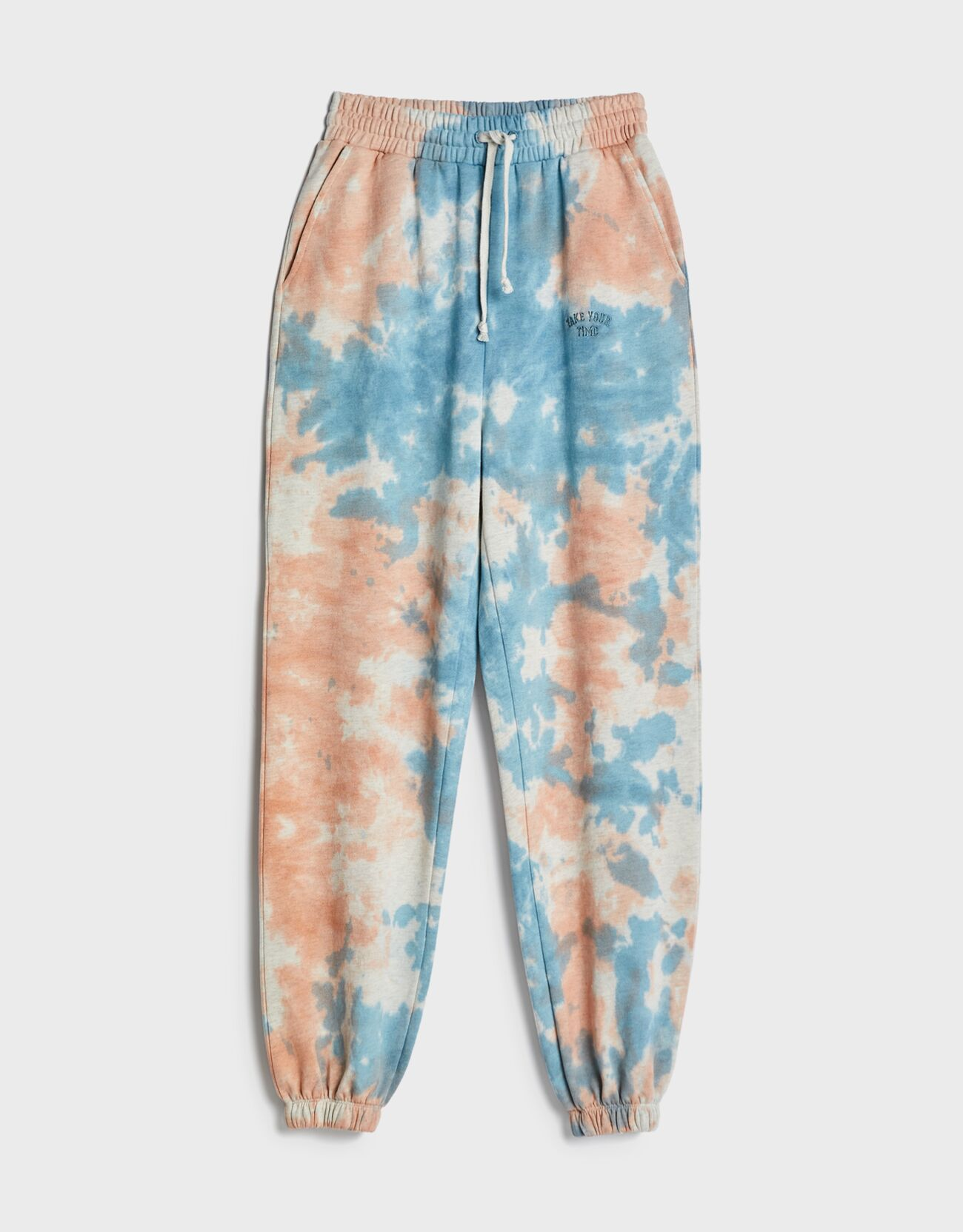 Pantalón jogger tie dye.