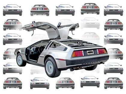 El DMC DeLorean regresa del futuro