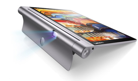 Lenovo Yoga Tab 3 Pro, la firma vuelve a montarle un proyector a su tablet