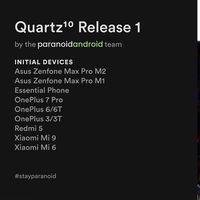 Paranoid Android lanza su versión estable con Android 10 para los Xiaomi Mi 6, Mi 9, OnePlus 3, Redmi 5 y más