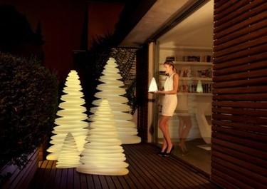 11 árboles para una Navidad minimalista