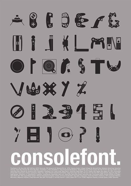 Tipografía consolera