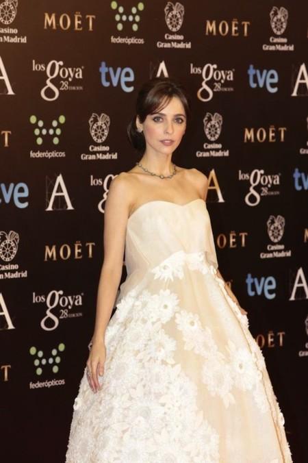 Leticia Dolera de Delpozo en los premios Goya 2014