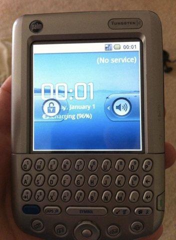 Android 2.1 instalado en una Palm Tungsten C