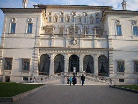 Roma: La Villa y el Museo e Galeria Borghese