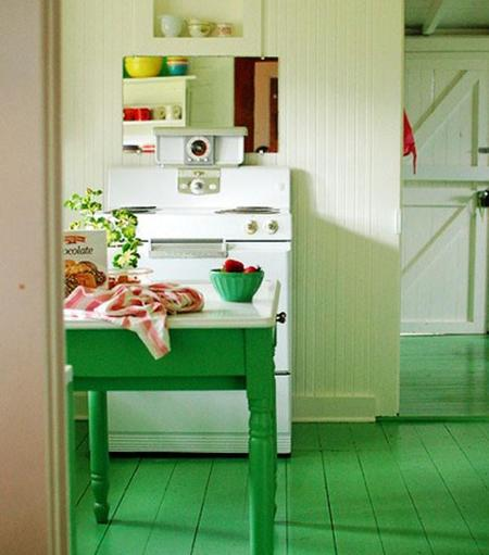 5 maneras de poner verde brillante en tu hogar