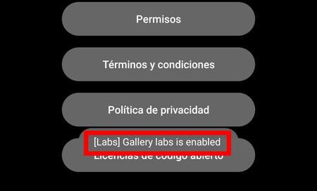 Opciones Ocultas Galería Samsung Galaxy