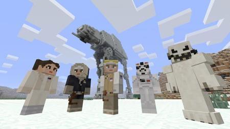Minecraft en Xbox One y Xbox 360 recibe Skin Pack de Star Wars con 55 personajes