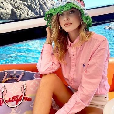 Las camisas boyfriend de marca se llevan hasta en la playa: nueve modelos para copiar a la mismísima Chiara Ferragni