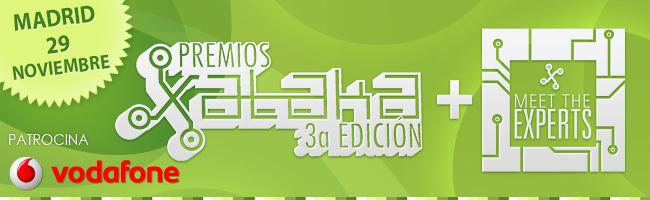 Premios Xataka 2012 agenda