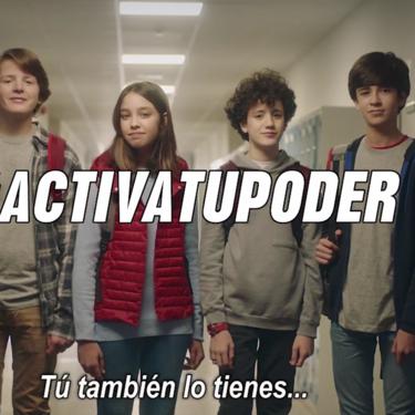#ActivaTuPoder, la campaña en la que personajes Disney animan a los niños a no mirar para otro lado ante el acoso escolar