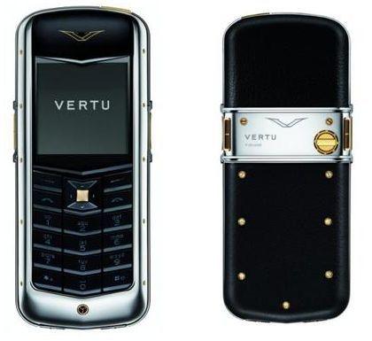 Nuevo móvil de Vertu, máximo lujo